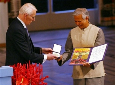 muhammed yunus banker to the poor Muhammad yunus is a bangladeshi banker and economist who was born on 28 june 1940 he was a professor of economics and is famous for his work in microcreditmicrocredit is a name for giving small loansthese loans are given to people with very little money most banks do not give microcredit.