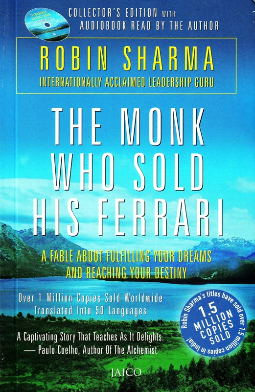 Book Review Monk Who Sold His Ferrari Robin Sharma